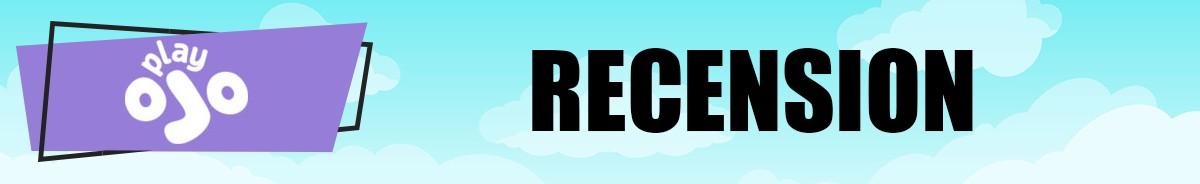 Play Ojo Casino-recension