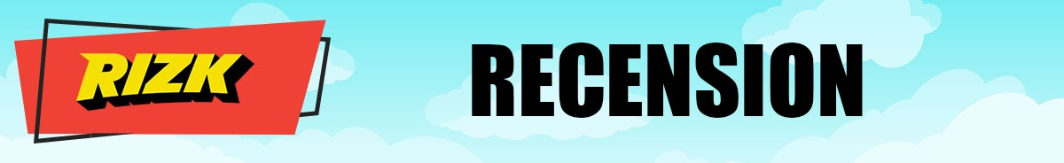 Rizk Casino-recension